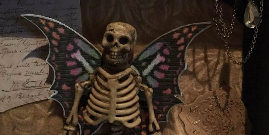 Make Your Own Creepy Fairy Skeleton Specimen
